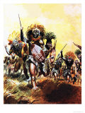 Incident from King Solomon's Mines Giclee Print by Don Lawrence