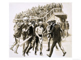 Dorando Pietri, a Gallant Marathon Runner from the 1908 London Olympics Giclee Print