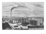 Deutsch Company, the Factory at Rouen, from Les Grandes Usines by Julien Turgan, c.1880 Giclee Print by Laurent Victor Rose