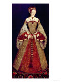 Portrait of Catherine Parr, 1545 Giclee Print by Master John Of Samakov 