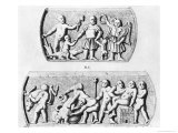 Triumph of Gnosis, Copy of Gnostic Caskets, Engraved by Thierry Freres Giclee Print by Julien Leopold Boilly