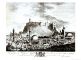 View of the City and Castle of Aleppo, Syria, 1754 Giclee Print by Alexander Drummond