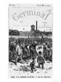 Front Cover Illustration of Germinal by Emile Zola Giclee Print by Jules Ferat