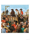 Jack Sheppard, the Notorious Rogue and Prison Breaker Giclee Print by Ken Petts