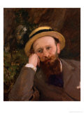 Portrait of Manet Giclee Print by Charles Émile Carolus-Duran