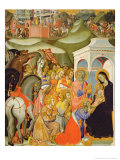 The Adoration of the Magi, c.1380 Giclee Print by Also Manfredi De Battilori Bartolo Di Fredi