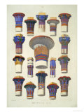 Egyptian No 3, from The Grammar of Ornament by Owen Jones Giclee Print by Owen Jones
