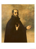 St.Ignatius Loyola Giclee Print by Francisco de Zurbarán
