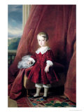 Portrait of Louis D&#39;Orleans, 1845 Giclee Print by Franz Xavier Winterhalter