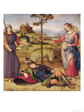 Vision of a Knight, c.1504 Impression giclée par  Raphael