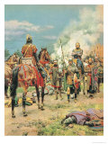 The Pageant of Kings: The Reign of Good King Muddlehead Giclee Print by Fortunino Matania