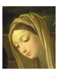The Adoration of the Shepherds, Detail of the Virgin, c.1640-42 Giclee Print by Guido Reni