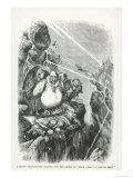 Vultures Waiting For the Storm to Blow Over- Let Us Prey, Harpers Weekly, 1871 Giclee Print by Thomas Nast
