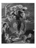 Voyage of Sable Venus, Angola to West Indies, History of All the British Colonies, Edwards, 1801 Giclee Print by Thomas Stothard