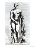 Venus Emerging from the Bath, c.1653 Giclee Print by Francois Perrier
