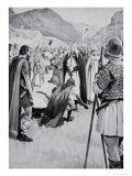 The Council of Dacor, 926, Illustration from the Book The History of the Nation Giclee Print by Archibald Webb