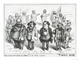 Who Stole the People's Money , from The New York Times, 1871 Giclee Print by Thomas Nast