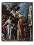 Saint Lawrence Prepared For Martyrdom, c. 1600-1 Giclee Print by Adam Elsheimer
