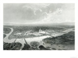 St.Petersburg, Engraved by S.Bradshaw, c.1860 Giclee Print by J Ramage
