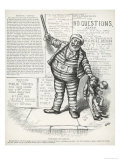Tweed-Le-Dee and Tilden-Dum, from Harper's Weekly, 1st July 1876 Giclee Print by Thomas Nast