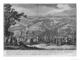The Battle of Poltava, Engraved by One of the Nicolas Larmessin Family, 1709 Giclee Print by Pierre-Denis Martin