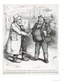 William Boss Tweed and Horace Greeley, from Harper's Weekly, 3rd August 1872 Giclee Print by Thomas Nast