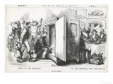 What Are You Going to Do About It , from Harpers Weekly, 14th October 1871 Giclee Print by Thomas Nast