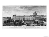 View of Hopital Royal de La Salpetriere, Known as Hopital General, Paris Giclee Print by Jacques Rigaud