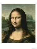 Mona Lisa, c.1503-6 Giclee Print by Leonardo da Vinci 