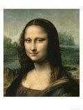 Mona Lisa, c.1503-6 Giclee Print by  Leonardo da Vinci