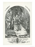 John T. Hoffman and William Boss Tweed, 1871 Giclee Print by Thomas Nast