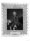 Portrait of William Pitt, Earl of Chatham Giclee Print by William Holl the Younger