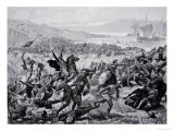 The Great Battle of Brunanburgh, 937, Illustration from the Book The History of the Nation Giclee Print by Alfred Pearse