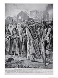 Prisoners Before Ethelfled After the Storming of Brecon, The History of the Nation Giclee Print by Richard Caton Woodville