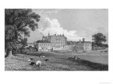 View of Chevening Place, Engraved by S. Lacy, 1830 Giclee Print by Thomas Mann Baynes