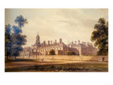 The South-West View of Kensington Palace, 1826 Giclee Print by John Buckler