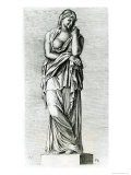 Veturia, Mother of Coriolanus, c.1653 Giclee Print by Francois Perrier