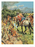 Pageant of Kings: Henry III, the King Who Lost His Common Sense Giclee Print by Fortunino Matania
