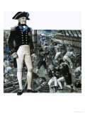 Thomas Hardy, Famous as the Man to Whom Nelson Turned in His Dying Moments on Hms Victory Giclee Print by Ken Petts