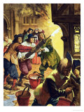 The Great Fire of London of 1666 Giclee Print by Peter Jackson