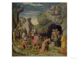 Adoration of the Magi, Central Panel from the Altarpiece, c.1466 Giclee Print by Andrea Mantegna