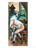 Wigs and Fashion of the Eighteenth Century Giclee Print by Peter Jackson