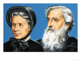 William Booth and His Wife Catherine Giclee Print