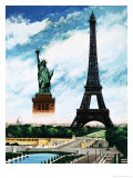 Who Built the Eiffel Tower  Alexandre Gustave Eiffel Giclee Print by Henry Charles Fox