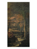 St. Mary of Egypt in the Wilderness Giclee Print by Jacopo Robusti Tintoretto