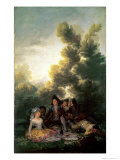 The Picnic, 1785-90 Giclee Print by Francisco de Goya