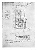 Paris Manuscript, 1488-90 Giclee Print by  Leonardo da Vinci