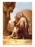 Christ and the Rich Young Ruler, 1640 Giclee Print by Bartholomeus Breenbergh