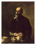 Portrait of the Blind Sculptor, Gambazo Giclee Print by Jusepe de Ribera