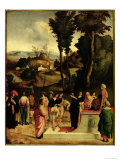 Moses Being Tested by the Pharaoh, c.1502-05 Giclee Print by Giorgione